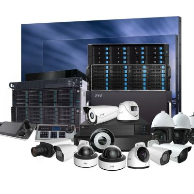 CCTV systems, Network equipment, ACS, Security and fire alarm systems